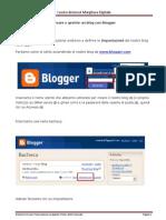 Creare e gestire un blog con Blogger Impostazioni