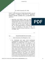 Radio Corp v. Roa Case