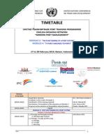 Timetable Batam MODUL 3 DAN 4