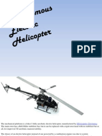 Autonomous Electric Helicopter