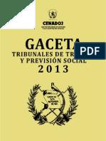 GacetaTrabajo2013_