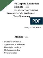 Module - III