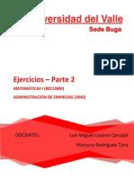 Cartilla Ejercicios Administracion I - Parte2