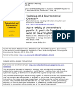 TEC-Acute Toxicity Published 2011