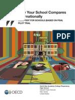 OECD Sample Test For Schools Report - Pisa para Escolas - Informe de Escola