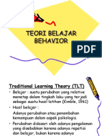 Teori Belajar Behavior Lg