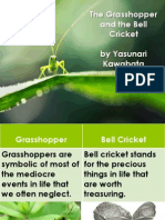 The Grasshopper and the Bell Cricket