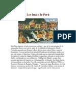 Los Incas de Perú