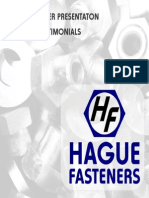 Hague Fasteners 2014 Special Fasteners Brochure