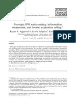 Strategic IPO Underpricing, Information