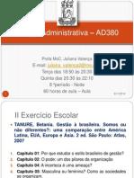 Análise Adm - 60h - Ad380 - Data 10 e 12 de Julho