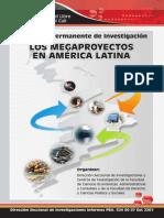 Memorias Del Seminario Megaproyectos America Latina