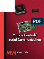 NPM Motion Control Serial Communication Catalog