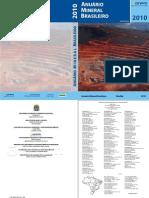 Anuario Mineral Brasileiro 2010