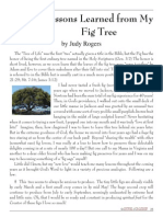 2006 Issue 5 - Lessons Learned From My Fig Tree - Counsel of Chalcedon