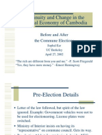 Continuity and Change in the Political Economy of Cambodia