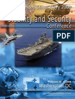 United States Navy 2008 Stability and Security Conference Report
