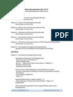 Macroeconomics (BA-2215) Syllabus