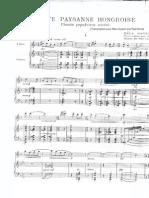 Bartok - Suite Paysanne Hongroise - Piano Score