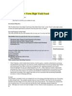 RiverPark High Yield Fund (RPHIX) Prospectus
