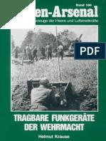 Waffen Arsenal - Band 184 - Tragbare Funkgeräte der Wehrmacht
