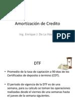 Amortización de Credito