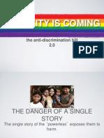 Anti Discrimination Bill