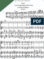 Wagner 7 Kompositionen Zu Goethes Faust WWV 15