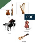 Tarea Instrumentos Musicales