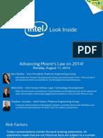 Intel 14nm presentation