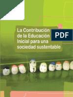 Educacion Desarrollo Sustentable Nivel Inicial