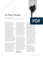 2007 Issue 2 - Is Porn Norm? - Counsel of Chalcedon