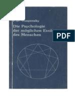 [Zusammenfassung von] ... Ouspensky - Psychologie Der Möglichen Evolution Des Menschen