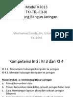 Modul K2013 - C3.5.XI-Rancang Bangun Jaringan1-Terminologi Dasar Jaringan