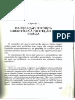 Da Relação Jurídica Creditícia à Proteção Da Pessoa (2)