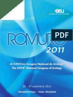 Anunt Final ROMURO2011 Complet