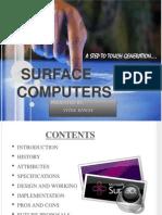 Surface Computing