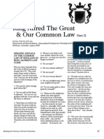 2007 Issue 3 - King Alfred the Great and Our Common Law Part 2 - Counsel of Chalcedon