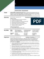 sample-resume-entry-level-admin