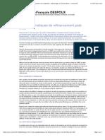 Les Problématiques de Refinancement Post-crise - Immobilier Non Résidentiel