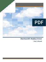 OPC Matrikon - Modbus