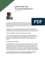 Keynes en la economía argfentina de hoy.docx