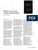 2008 Issue 2 - What is So Great About Christianity? - Counsel of Chalcedon