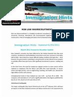 Hints for Migrants 2011