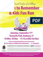 Run to Remember Flyer