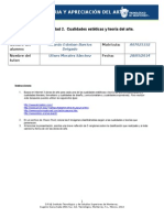 MII-U2- Actividad 2 Cualidades Estéticas y Teoría Del Arte