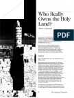 2008 Issue 3 - Who Really Owns the Holy Land? - Part 2 - Counsel of Chalcedon