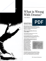 2008 Issue 3 - What is Wrong With Drama? - Counsel of Chalcedon