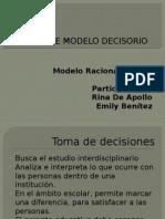 Diseño de Modelo Decisorio Presentación