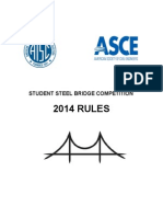 ASCE Steel Bridge Competition 2014 Rules
